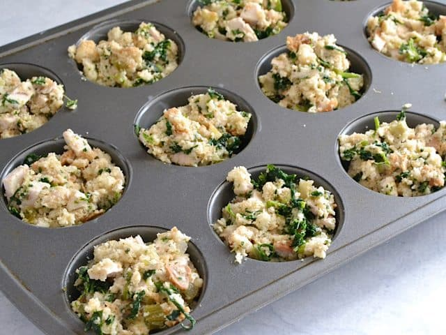Fill Muffin Tin