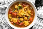 Moroccan Lentil and Vegetable Stew