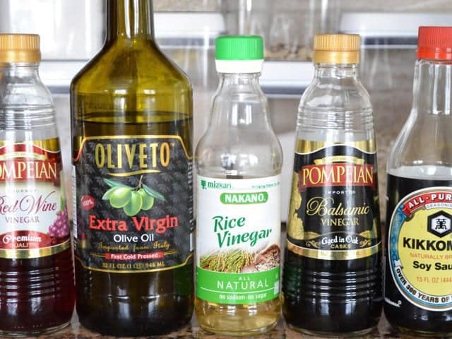 Oils Vinegars and Sauces