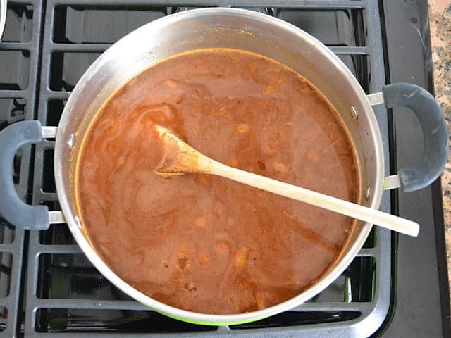 Add Broth and Tomato Paste