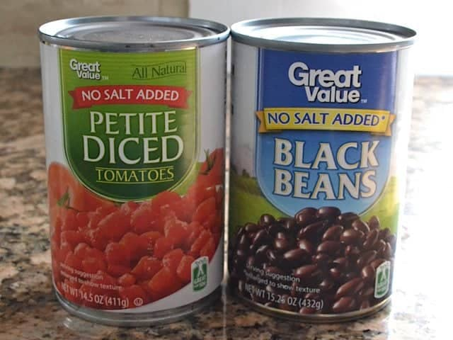 Diced Tomatoes and Beans