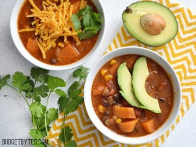 Sweet Potato Tortilla Soup