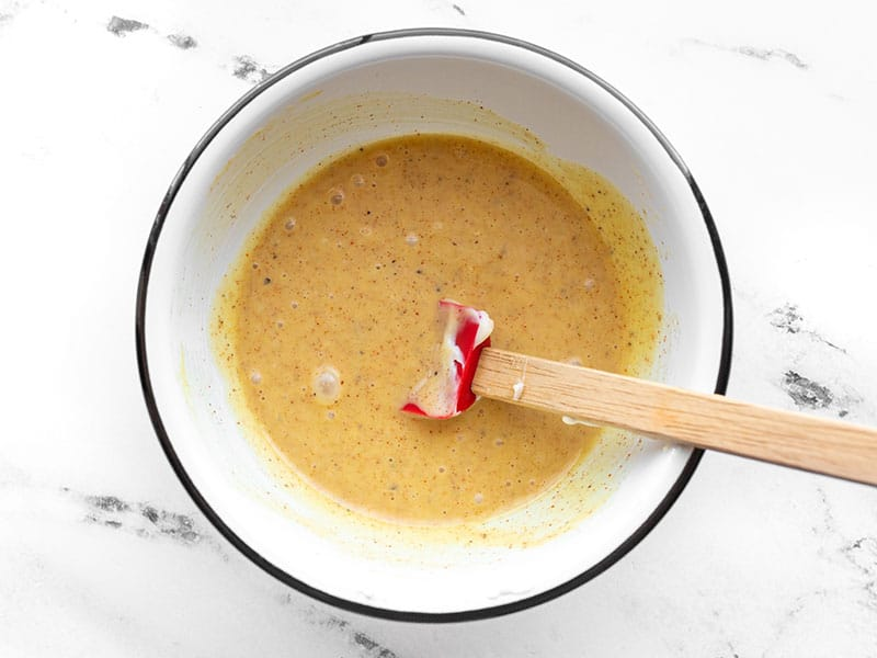 Mixed honey mustard sauce