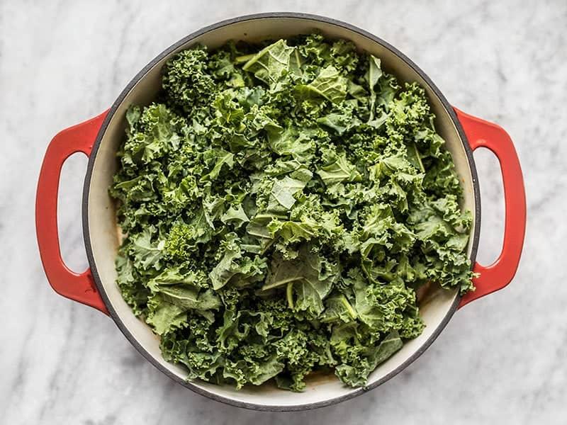 Add Kale to Zuppa Toscana