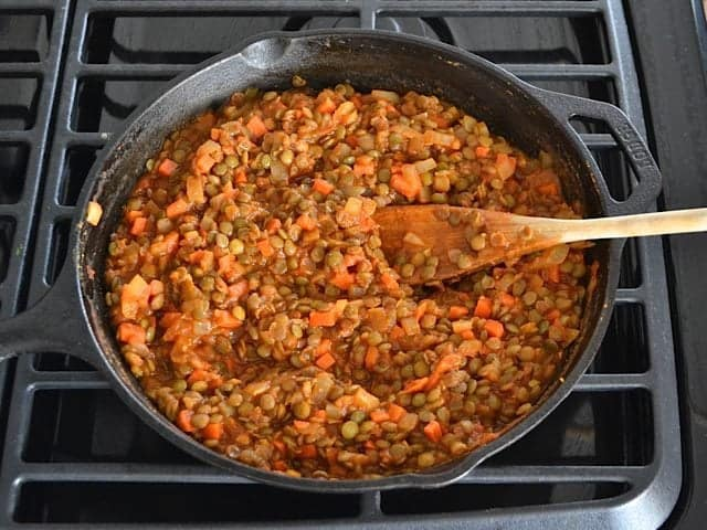Tomato Sauce Lentils Salt