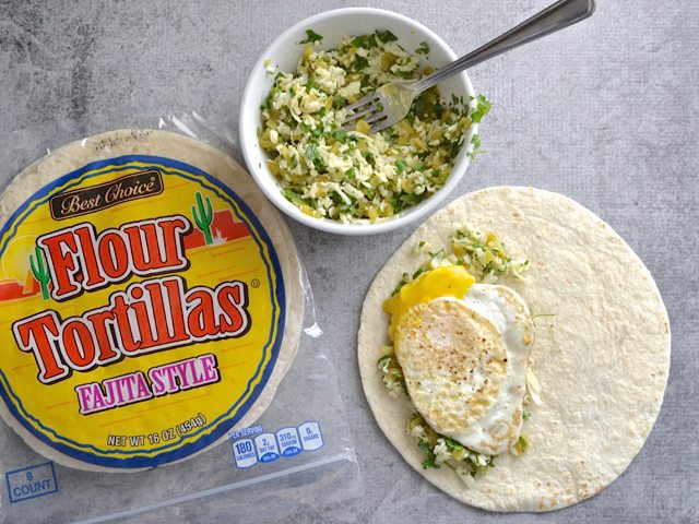 Build Quesadillas