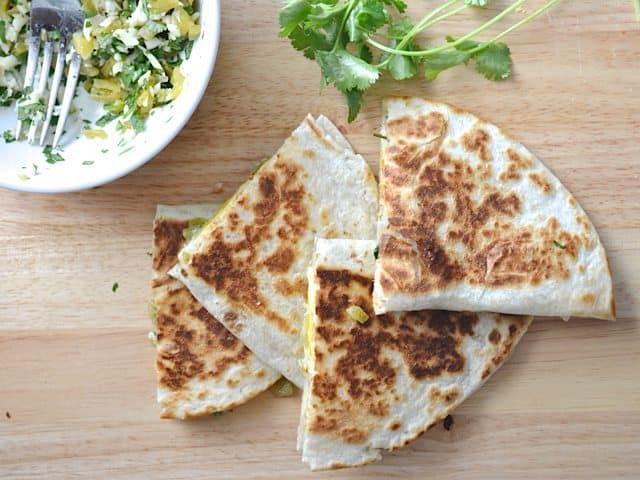 Cooked Quesadillas