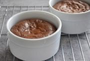 Fudge Brownie Pots (for two)