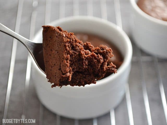 Fudge Brownie Pots - BudgetBytes.com