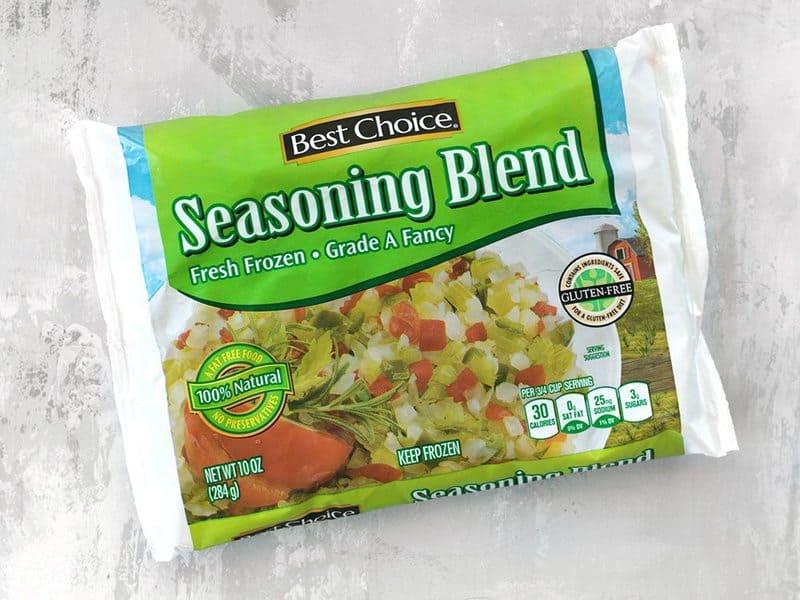 Seasoning Blend Frozen Mix