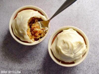 Carrot Cake for Two - BudgetBytes.com