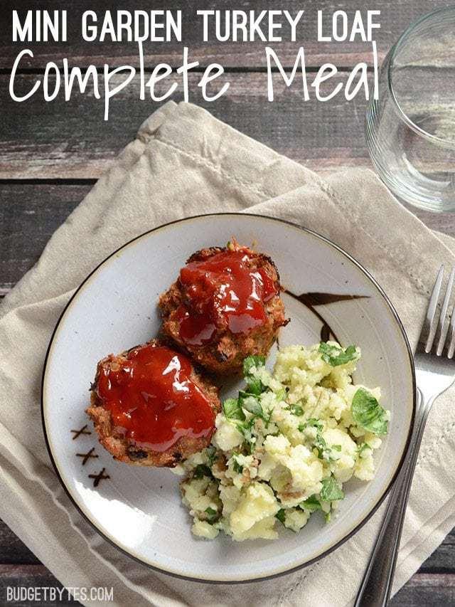 Garden Turkey Loaf Meal - BudgetBytes.com