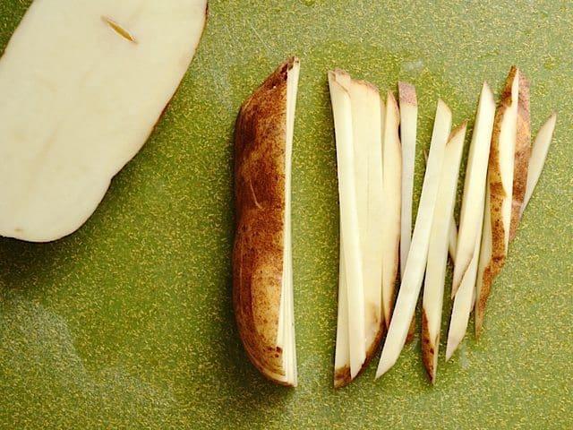 Potato Match Sticks