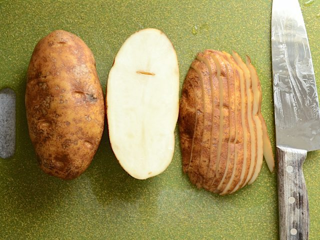 Slice Potatoes