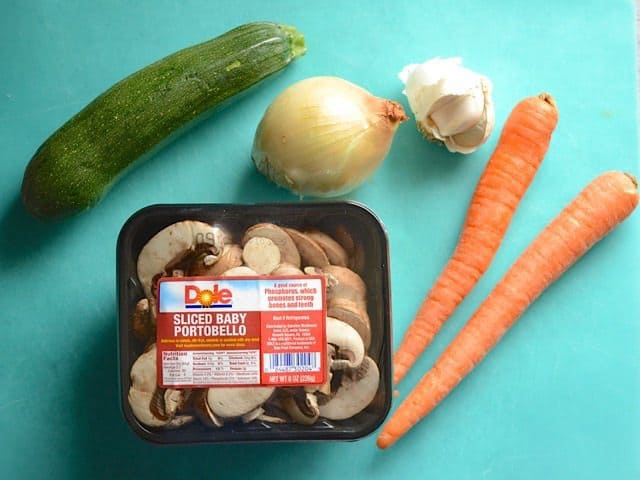 Vegetables for Meatloaf