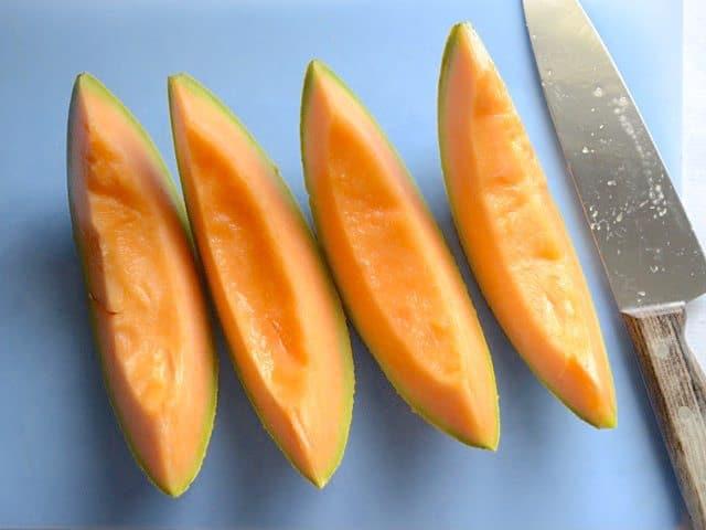 Quarter Cantaloupe
