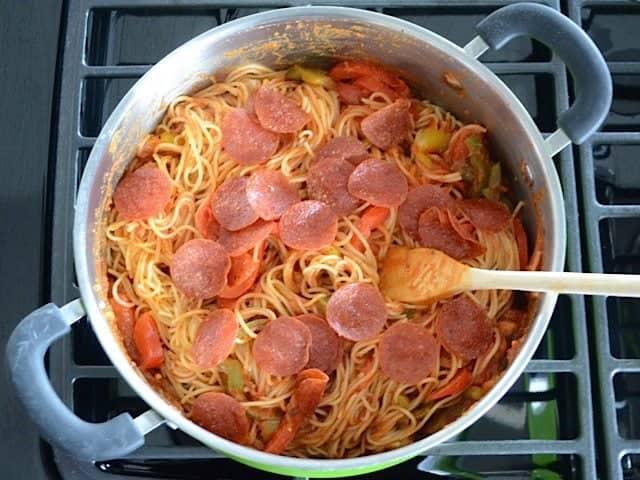 Add Crispy Pepperoni