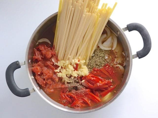 Add Ingredients to the Pot