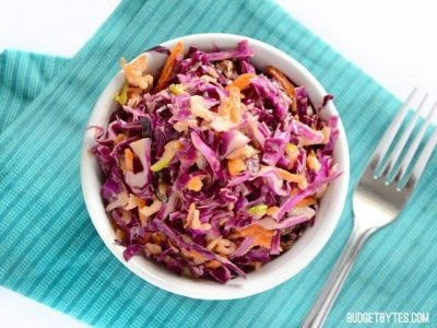 Apple Cabbage Slaw - BudgetBytes.com