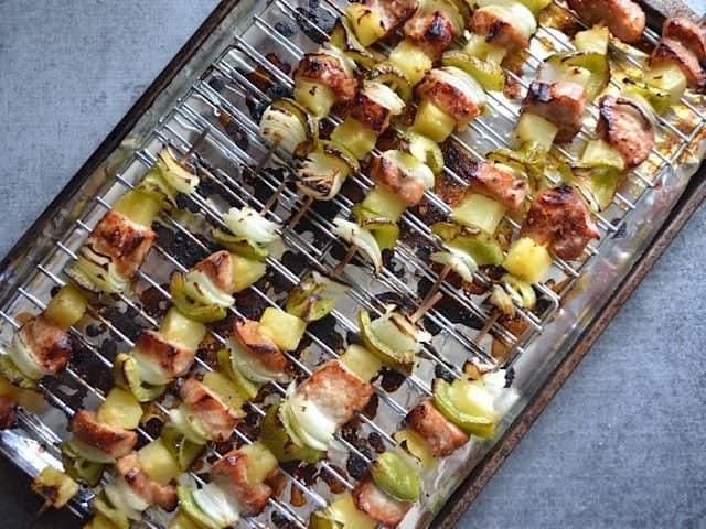 Broiled Kebabs
