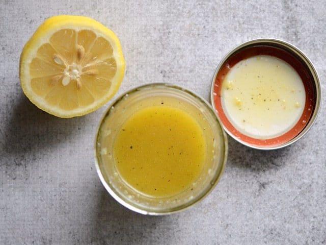 Lemon Ginger Dressing