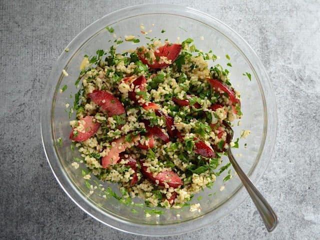Mixed Plum Salad