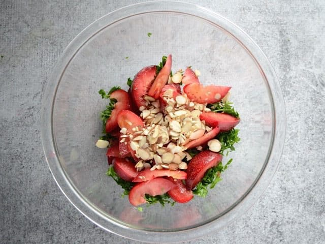 Parsley Plums and Almonds