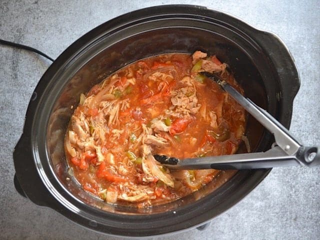 Shredded Chicken Ropa Vieja