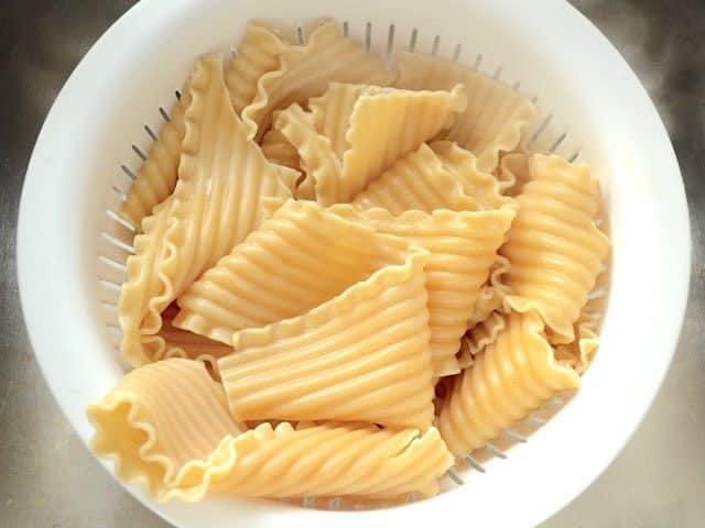 Boiled Lasagna Noodles