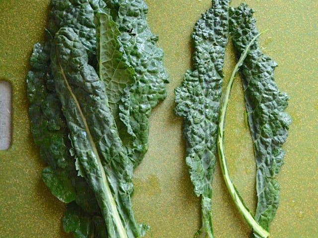 De-stemmed Lacinato Kale