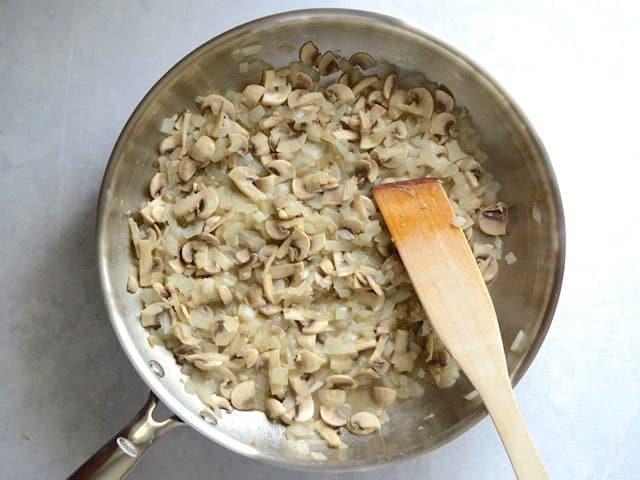 Sautéed Garlic, Onion, and Mushrooms