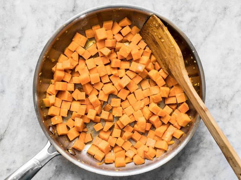 Sauté Sweet Potatoes