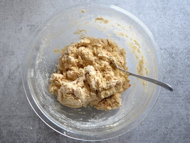Apple Scone Dough