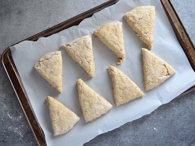Apple Pie Scones ready to bake