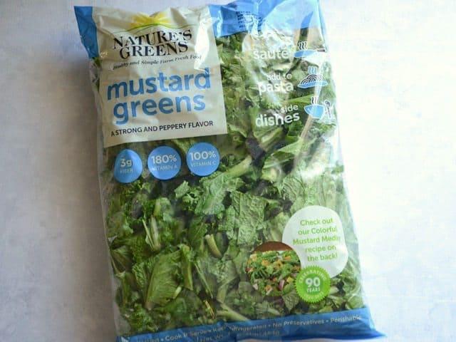 Bagged Mustard Greens