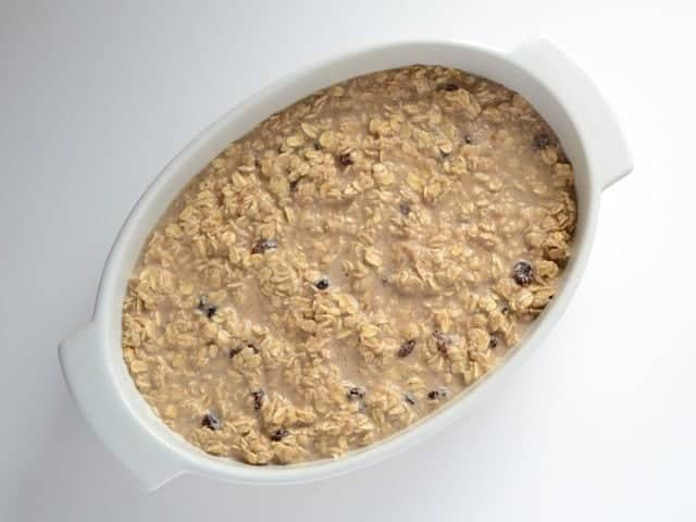 Baked Oatmeal ready to bake