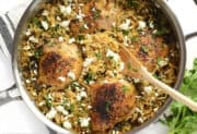 Lemon Pepper Chicken with Orzo
