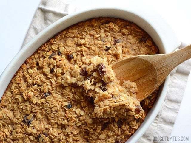 Baked Oatmeal Recipe — Dishmaps