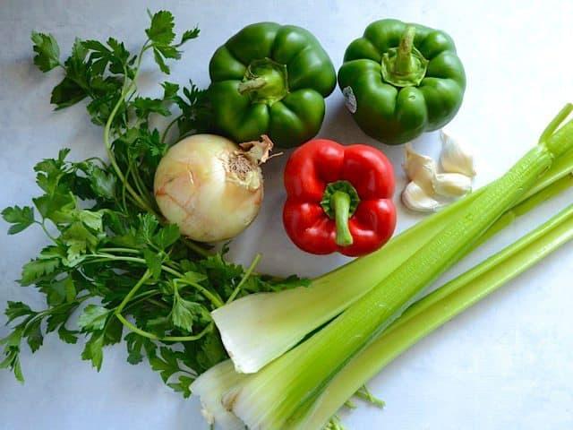 Vegetables for White Beans