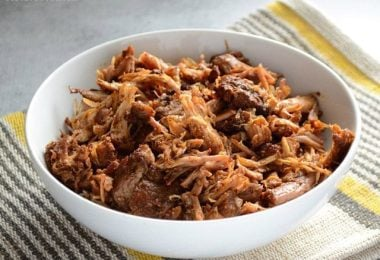 Chili Rubbed Pulled Pork - BudgetBytes.com
