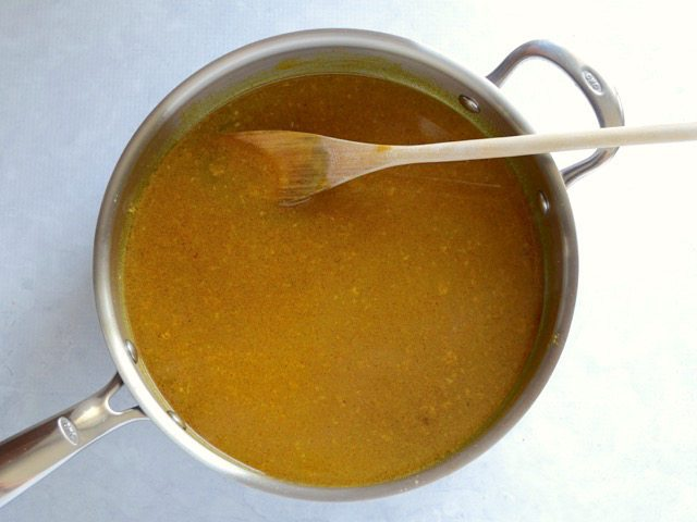 Deglaze with Chicken Broth