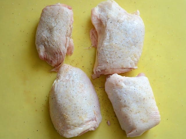 Season Raw Chicken