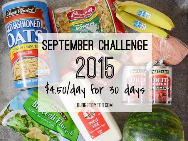 September Challenge 2015