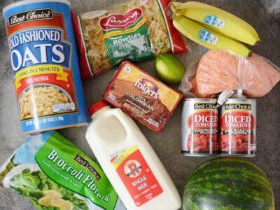 Week 1 Groceries