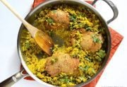 Yellow Rice Chicken Skillet