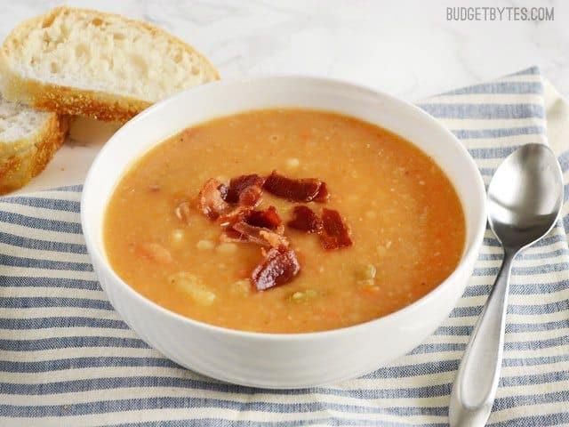 Bacon, Bean, and Potato Soup
