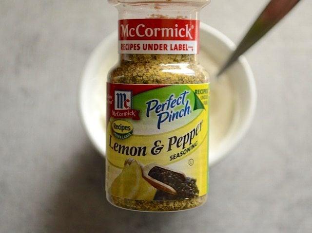 Bottle of Lemon Pepper