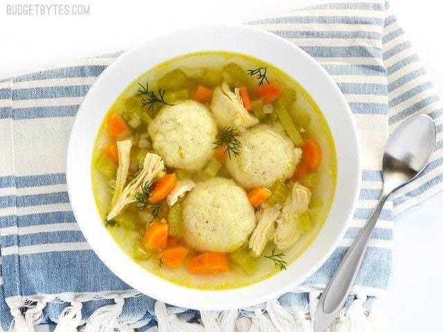Matzo Ball Soup - Budget Bytes