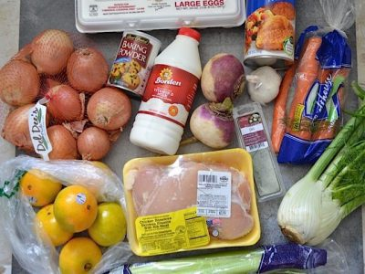Weekly Groceries 10-7