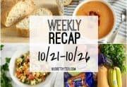 Weekly Recap 10/21-10/26